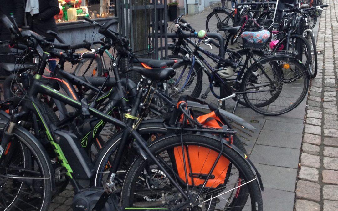 Offener Brief: Standortvorschläge für neue Fahrradbügel