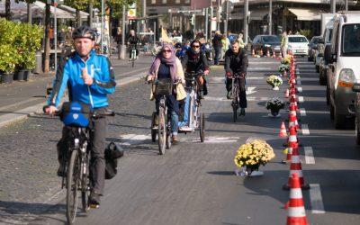 Radentscheid schlägt vor: Pop-Up-Radwege auch in Aachen