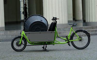 Mit 90 Kilo emissionsfrei unterwegs