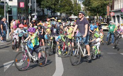 Kidical Mass: Aachens Kinder erobern die Straßen