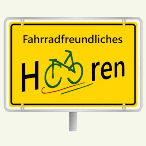 Fahrradfreundliches Haaren